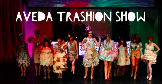 aveda-trashion-show