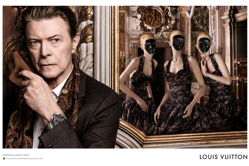 david Bowie Louis Vuitton
