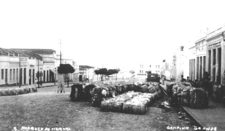 cotton history Campina Grande Paraíba 1936