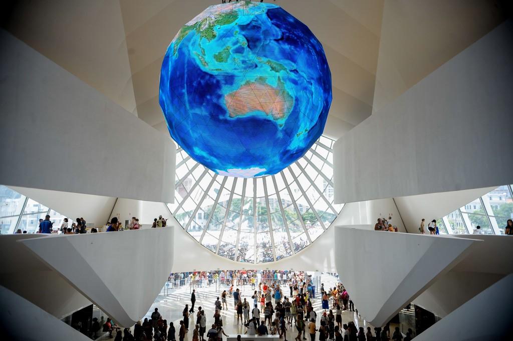 Museu do Amanhã no Rio de Janeiro. Foto Tomaz Silva / Agência Brasil. CC
